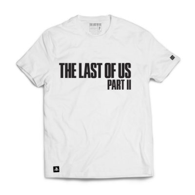 Camiseta The Last Of Us Parte II