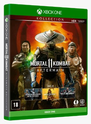 Mortal Kombat 11 Aftermath Xbox One Midia Física