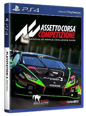 Assetto Corsa Competizione PS4 Midia Física