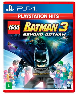 Lego Batman 3 Beyond Gotham PS4 Midia fisica
