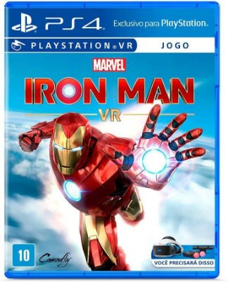 Marvel Iron Man VR PS4 MIDIA FISICA