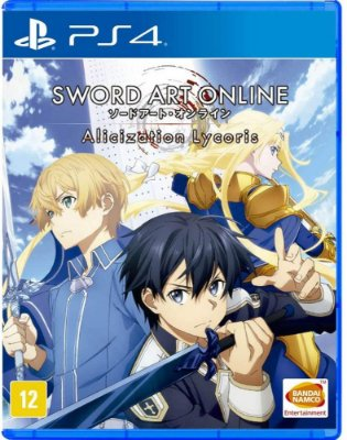 Sword Art Online Alicization Lycoris PS4 Midia Fisica