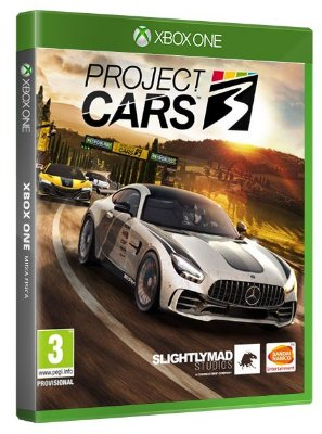 Project Cars 3 Xbox One Mídia Fisica