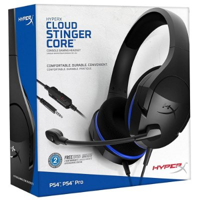 Headset Gamer Hyperx Cloud Stinger Core Ps4 Nintendo Switch