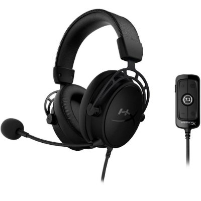 Headset Gamer HyperX Cloud Alpha S Blackout 7.1