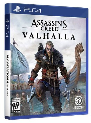 Assassin's Creed Valhalla PS4 Mídia Fisica