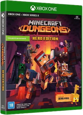 Minecraft Dungeons Hero Edition Xbox one Midia Fisica