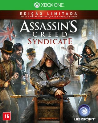 Assassins Creed Syndicate Edição Limitada Xbox One MIDIA FISICA