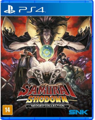 Samurai Shodown Neogeo Collection PS4 Midia Fisica