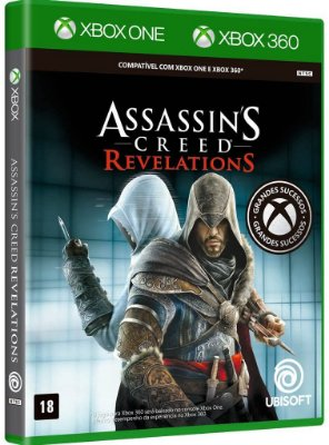 Assassins Creed Revelations Xbox One e Xbox 360 Midia fisica