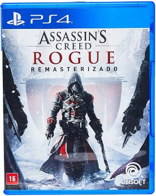 Assassins Creed Rogue Remasterizado PS4 Midia Fisica