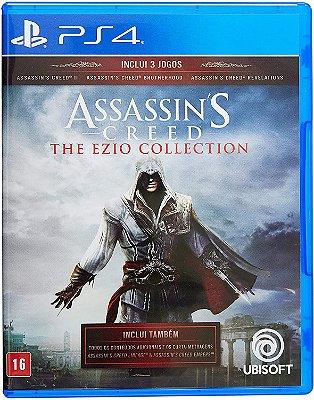 Assassins Creed The Ezio Collection PS4 Midia Fisica