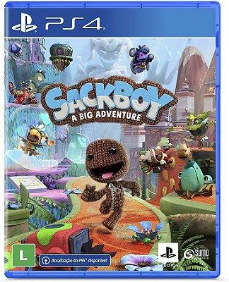 Sackboy Uma Grande Aventura PS4 Midia Fisica