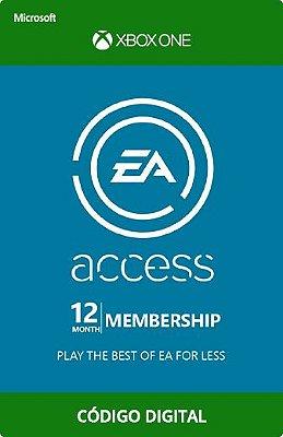 Cartão Assinatura EA Access código digital