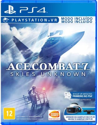Ace Combat 7 Skies Unknown PS4 Midia Fisica