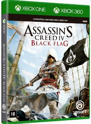 Assassins Creed IV Black Flag Xbox One Midia Fisica