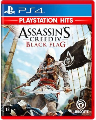 Assassins Creed IV Black Flag PS4 Midia Fisica