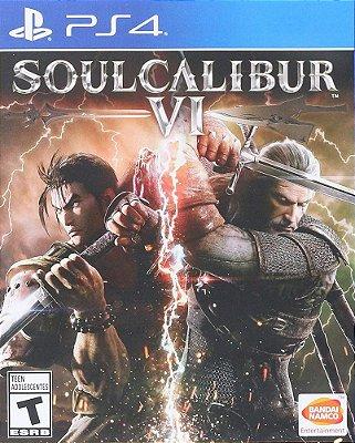 Soulcalibur VI PS4 Midia Fisica