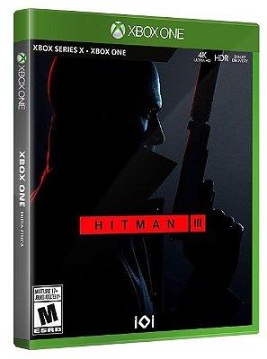 Hitman 3 Xbox One S|X Midia Fisica
