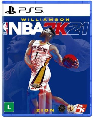 NBA 2K21 PS5 Mídia Fisica