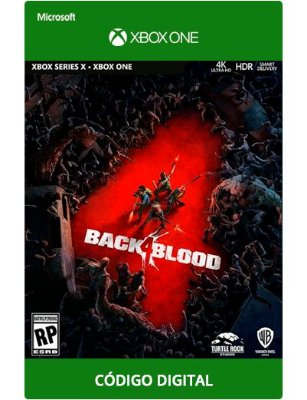 Back 4 Blood Xbox One S|X