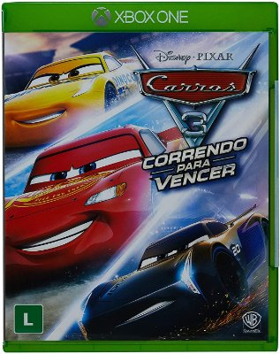 Carros 3 Correndo para Vencer Xbox One Midia Fisica