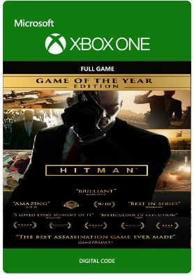 Hitman Jogo do Ano Xbox One