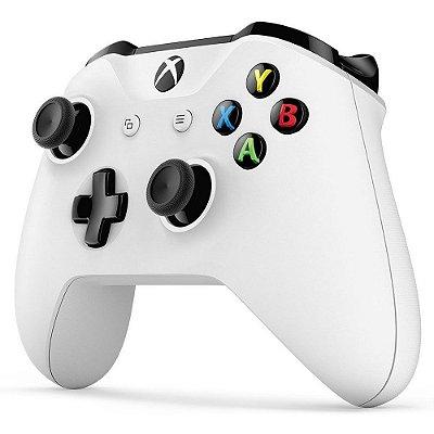 Controle Sem fio para Xbox One Slim Branco (USADO)