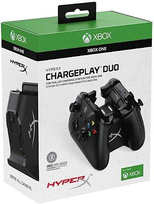Hyperx Chargeplay Duo Carregador Para controles de Xbox