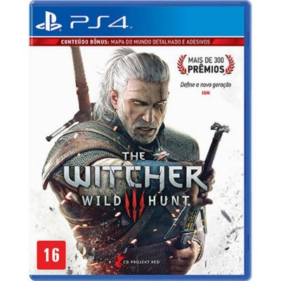 The Witcher 3 Wild Hunt Ps4 MIDIA FISCA