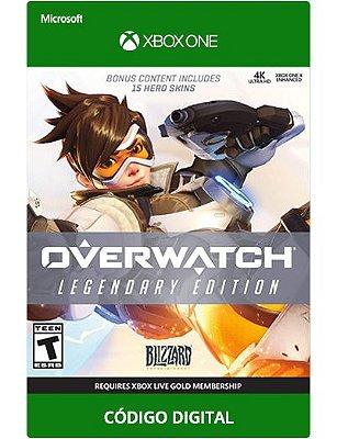 Overwatch Edição Lendaria Xbox one