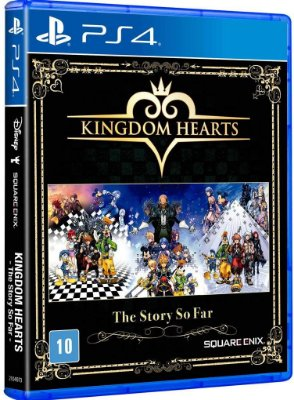 Kingdom Hearts The Story So Far PS4 Midia Fisica