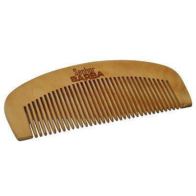 Pente de Madeira - Senhor Barba: perfeito para sua barba: reduz o frizz.