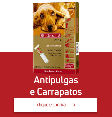 Antipulgas e Carrapatos
