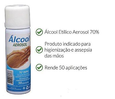 ÁLCOOL AEROSOL 70% ARMAQ