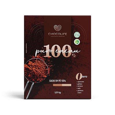 CACAU EM PÓ PREMIUM 100% 1KG - CHOCOLIFE