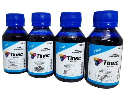TINTA SUBLIMÁTICA CIANO TINEC - 400ML