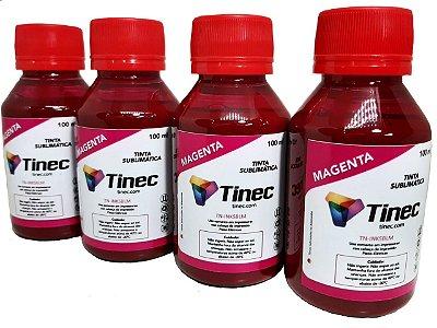 TINTA SUBLIMÁTICA MAGENTA TINEC - 400ml