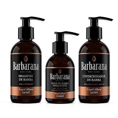 Kit Shampoo + Condicionador + Balm Hidratante
