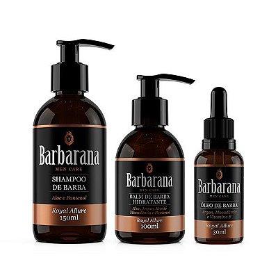 Kit Shampoo + Balm Hidratante + Óleo