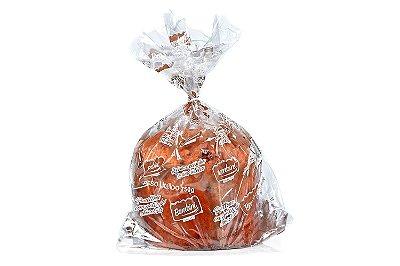 Panetone com gotas de chocolate - Caixa com 12 unidades de 750g cada - Embalagem simples