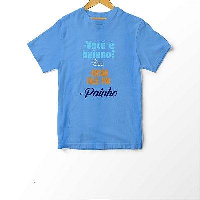 Camiseta Infantil Painho para Baianinhos