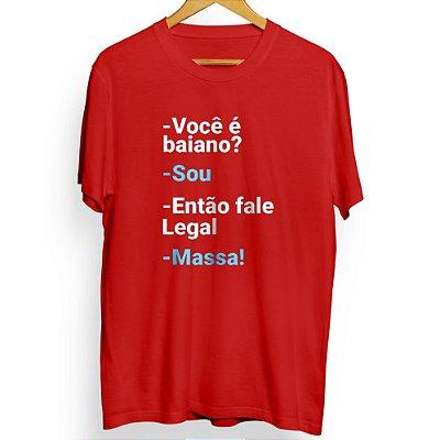 Camiseta Masculina Massa