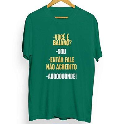 Camiseta Masculina Aooonde