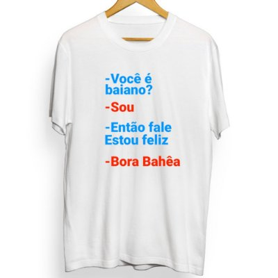 Camiseta Masculina Bora Bahêa