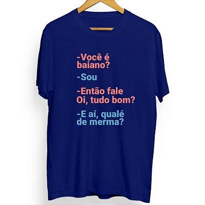 Camiseta Masculina Qualé de Merma?