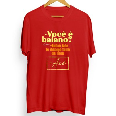 Camiseta Masculina Axé