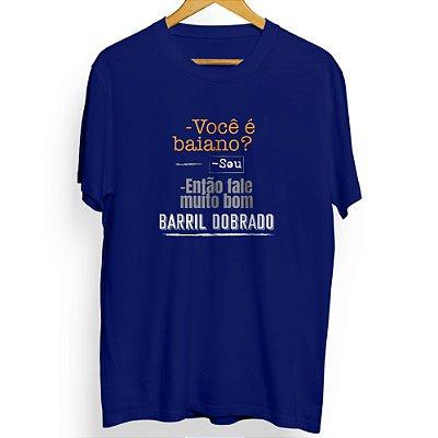 Camiseta Masculina Barril Dobrado