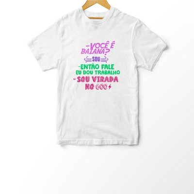 Camiseta Infantil Virada no 600
