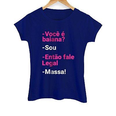Camiseta Feminina Massa